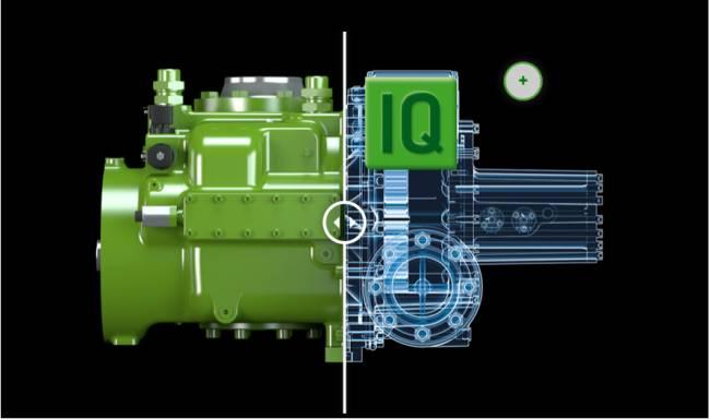 3D Produktvisualisierung mit interaktiven Elementen, integriert in eine Touch-Anwendung