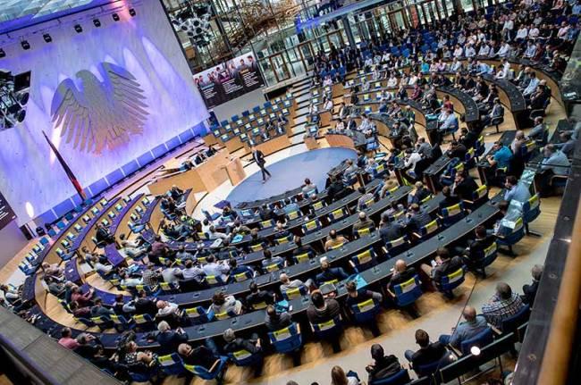 Kommunikationsagentur: Ansicht des Plenums im World Conference Center während der Citrix Technology Exchange.