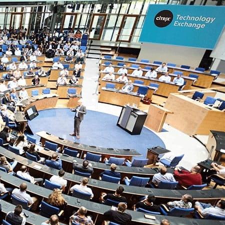 Event im alten Bundestag Bonn des Unternehmen Citrix