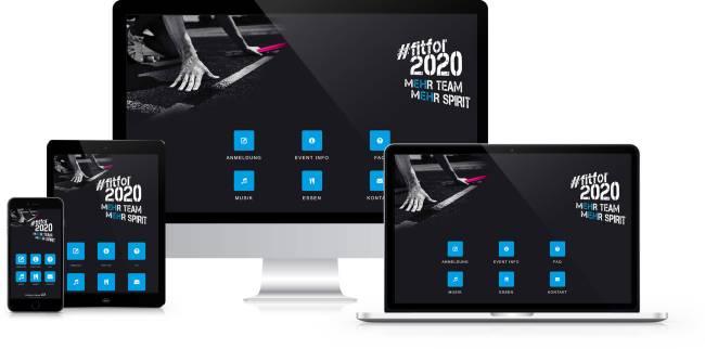 Event-App zur Anmeldung, vereinfachtes und digitalisiertes Teilnehmermanagement