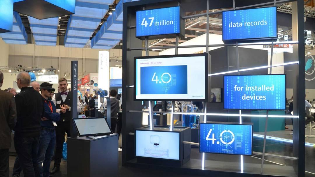 Industrie 4.0 auf Smartgrid von commacross für Endress+Hauser entwickelt.