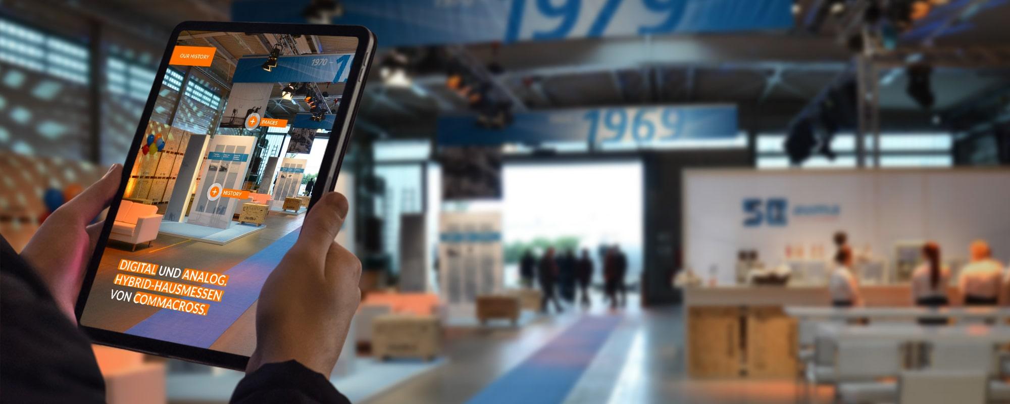Digitale und analoge Hausmesse von commacross.