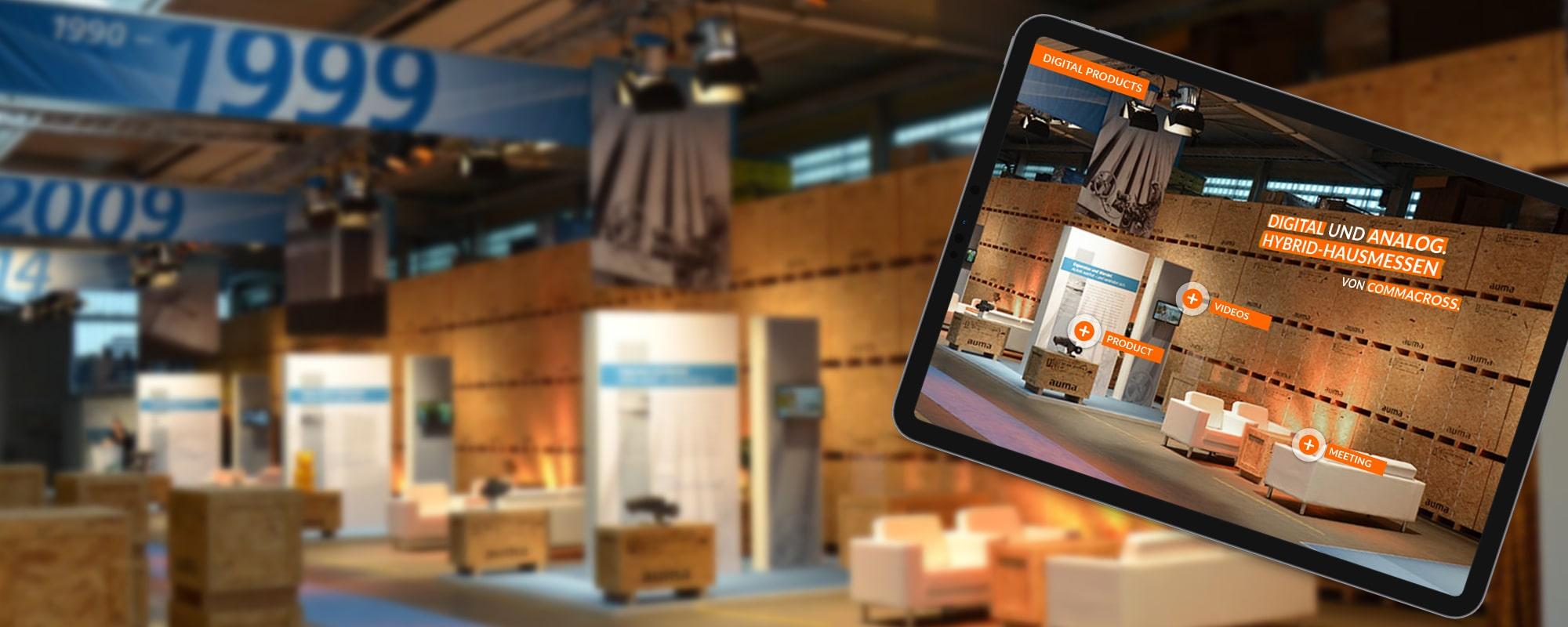 Analoge und digitale Hausmesse von commacross