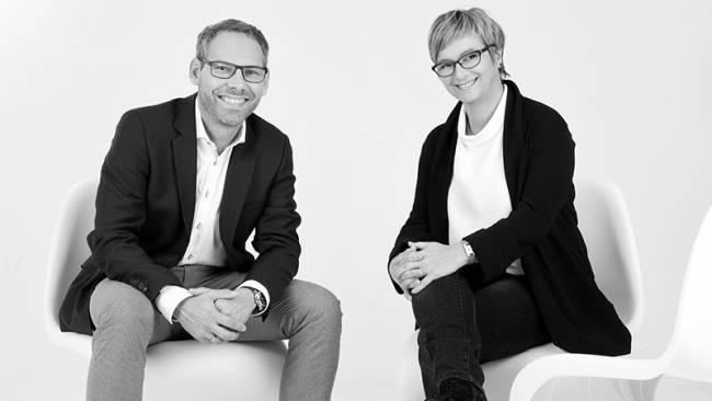 Eberhard Freiensehner, Geschaeftsfuehrer und Stephanie Freiensehner, Architektin